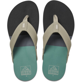 Reef Tri Newport Sandals Men black/green